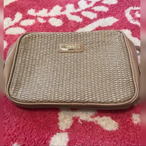 Versace Bags   New Parfums Beige Bag 10x6   Poshmark 46d40d46ae